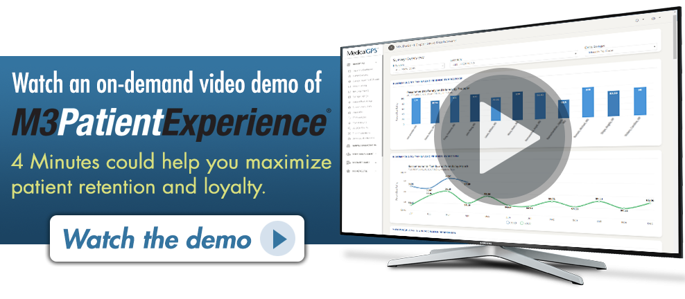 On-Demand Video Demo of M3 Patient Experience