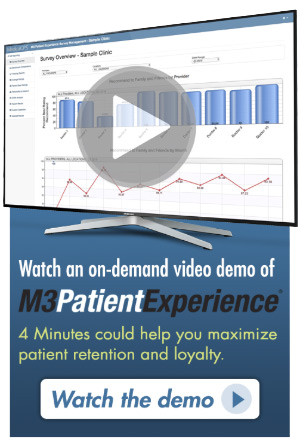 Discover How M3-Patient Experience Can Help Maximize Patient Retention and Loyalty.